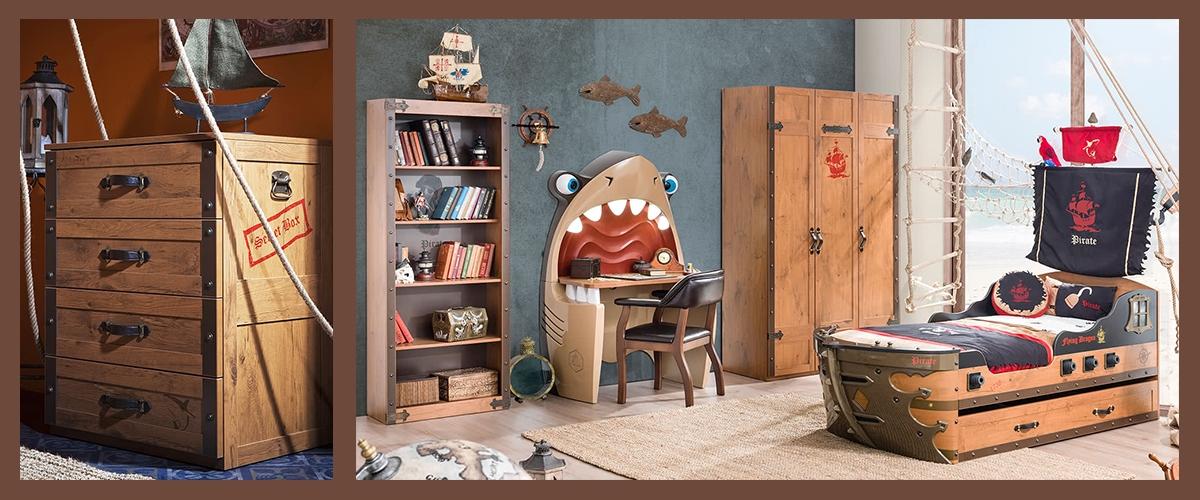 Детская комната Black Pirate фото 2