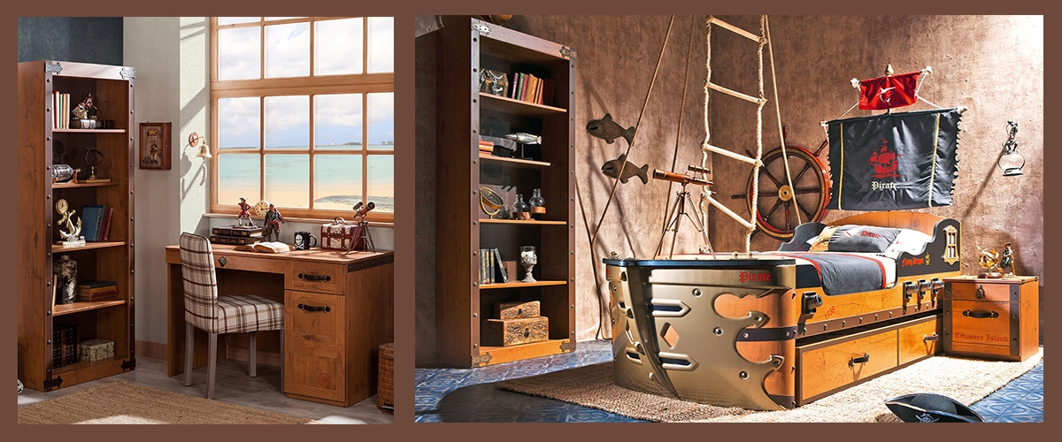 Детская комната Black Pirate фото 4