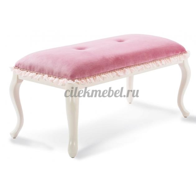 Розовая банкетка Cilek Dream