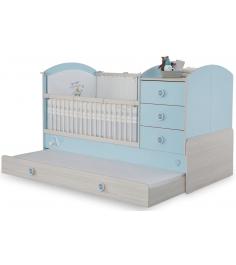 Кроватка трансформер Cilek Baby Boy с выдвижным спальным местом...