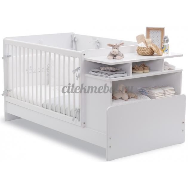 Кровать трансформер с полками Cilek Baby Cotton
