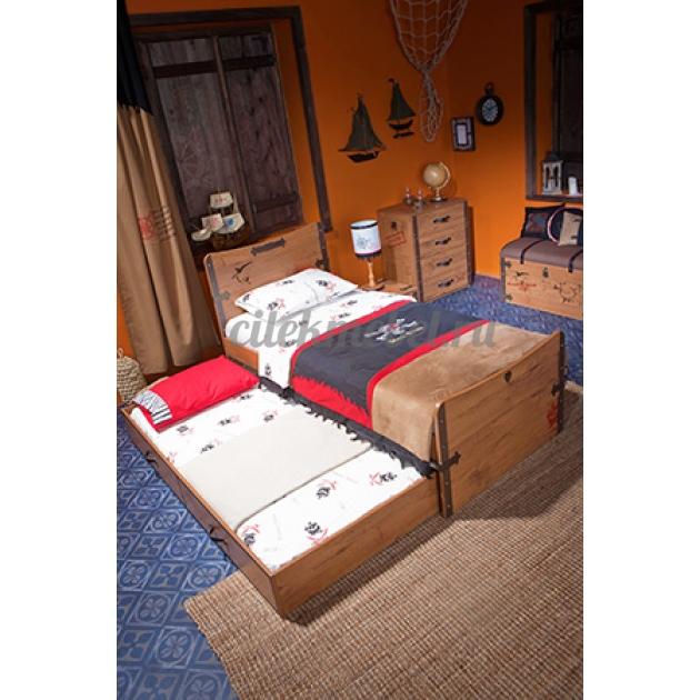 Выдвижное спальное место Cilek Black Pirate 180 на 90 см