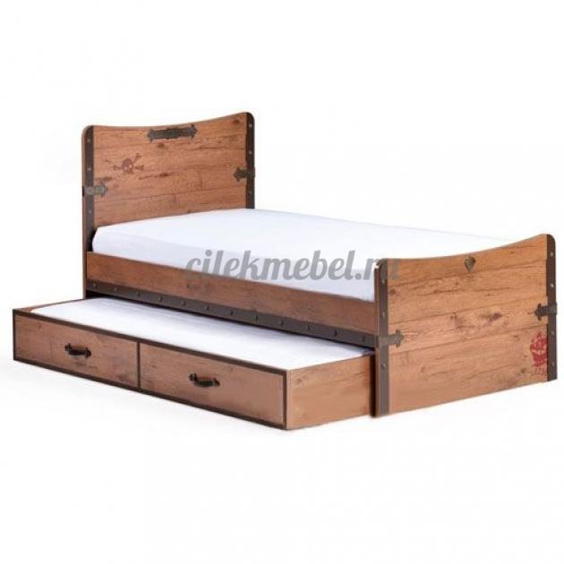 Выдвижное спальное место Cilek Black Pirate 190 на 90 см