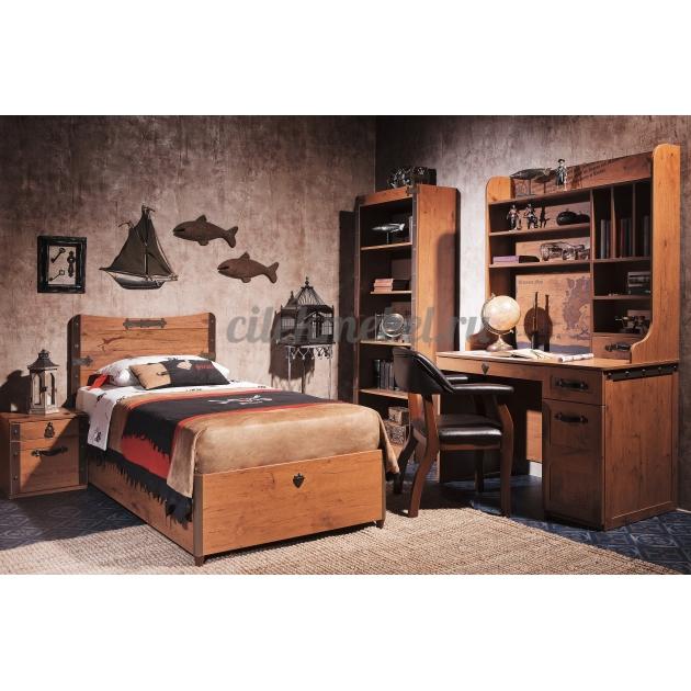 Кровать с подъемным механизмом Cilek Pirate 90 на 190 см