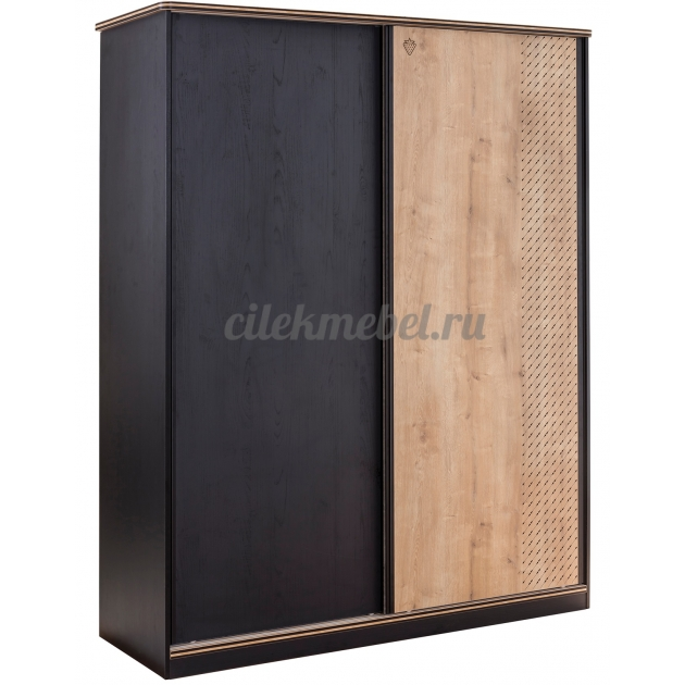 Шкаф купе Cilek Black