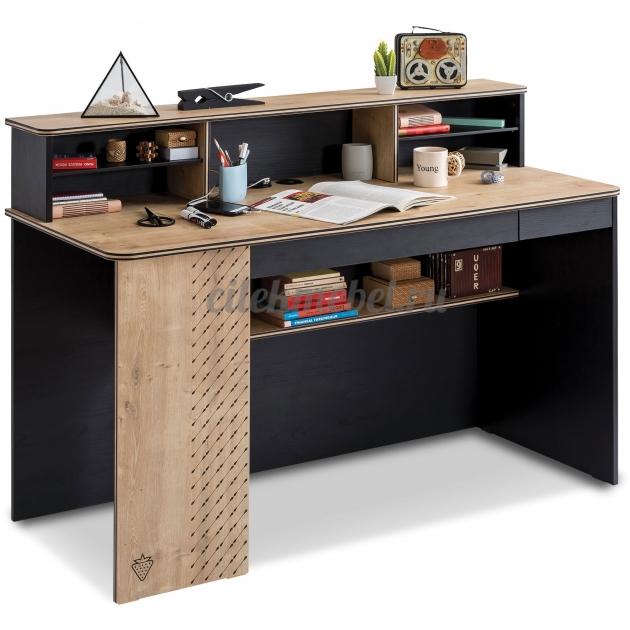 Письменный стол Cilek Black широкий