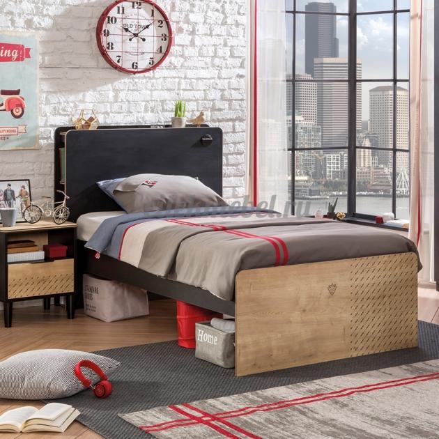 Кровать Cilek Black 200 на 100 см