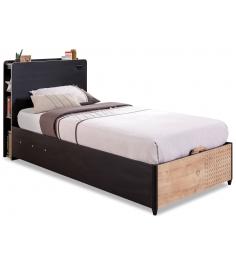 Кровать с подъемным механизмом Cilek Black