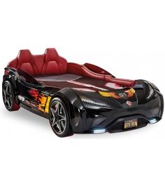 Кровать машина Cilek GTS черная