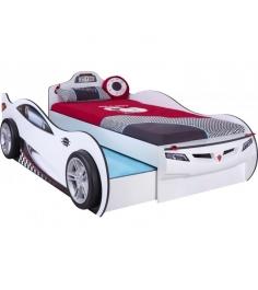 Кровать машина Cilek Coupe c выдвижной кроватью
