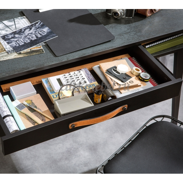 Надстройка к письменному столу Cilek Dark Metal