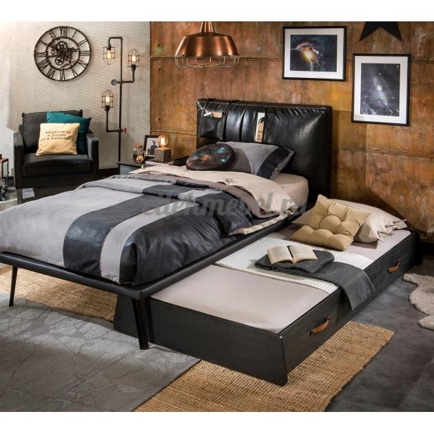 Выдвижное спальное место Cilek Dark Metal 190 на 90 см