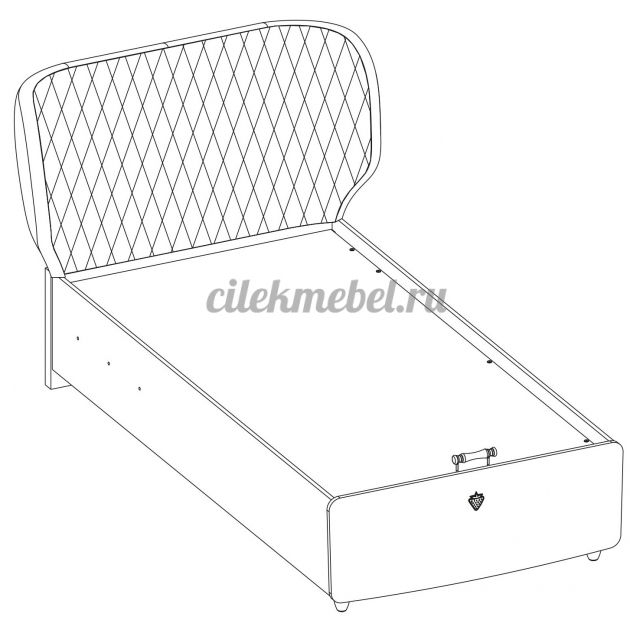 Кровать с подъемным механизмом Cilek Lofter