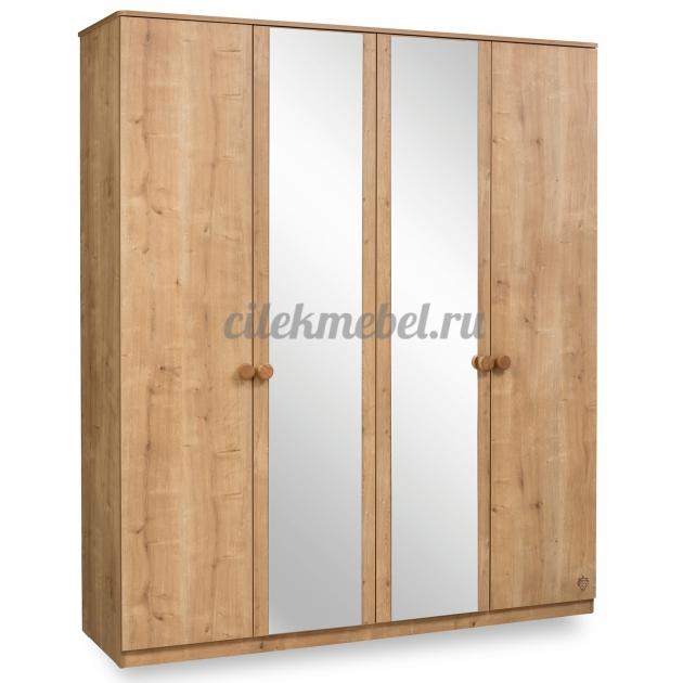 Четырехдверный шкаф Cilek Mocha