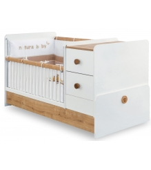 Кроватка трансформер Cilek Natura Baby St