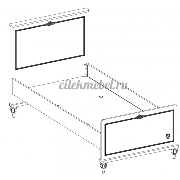 Детская кровать Cilek Romantica 200 на 100 см
