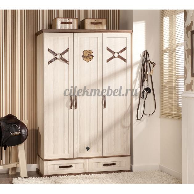 Трехстворчатый шкаф Cilek Royal