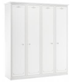 Шкаф четырехдверный Cilek Selena Grey