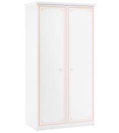 Двухстворчатый шкаф Cilek Selena Pink
