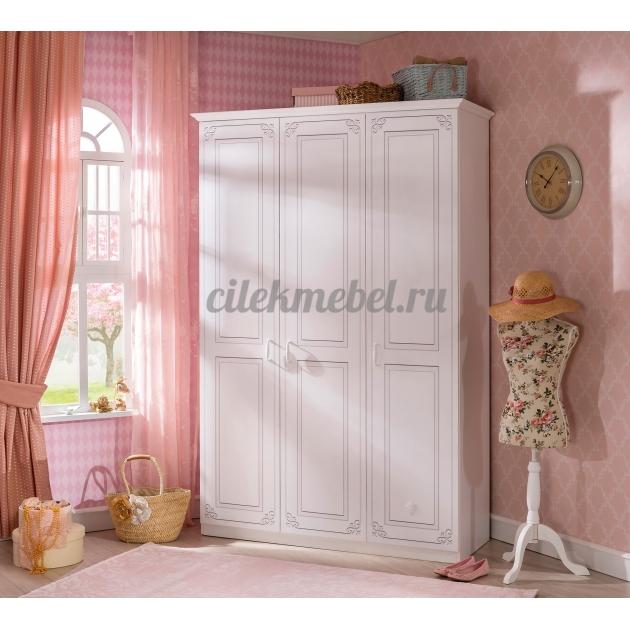 Трехстворчатый шкаф Cilek Selena