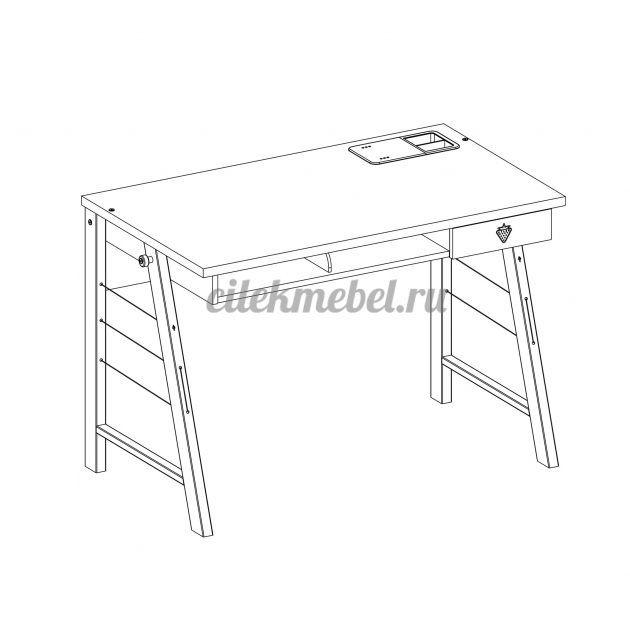 Письменный стол Cilek Trio без тумбы