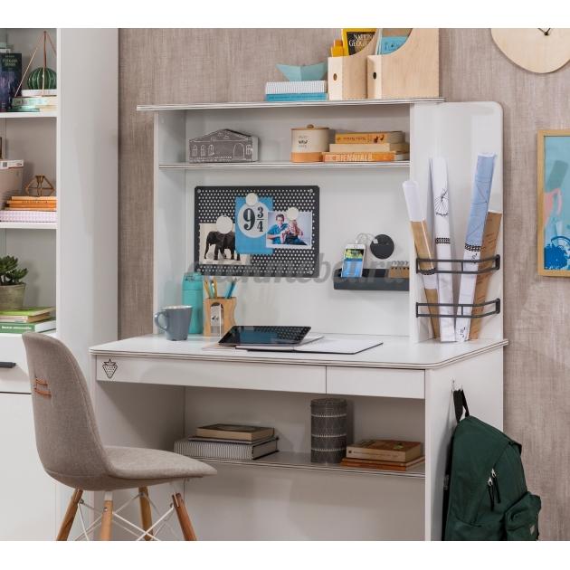 Надстройка к малому письменному столу Cilek White