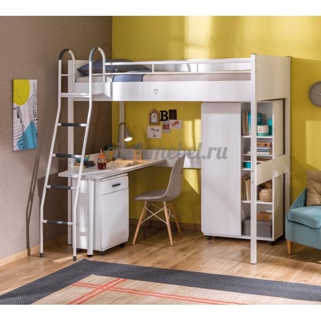 Кровать чердак Cilek Compact White 190 на 90 см