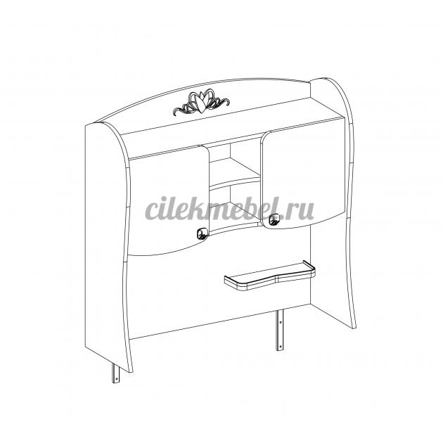 Надстройка к письменному столу малому Cilek Yakut