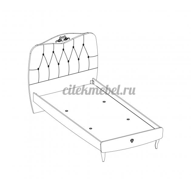 Кровать L Cilek Yakut 200 на 100 см
