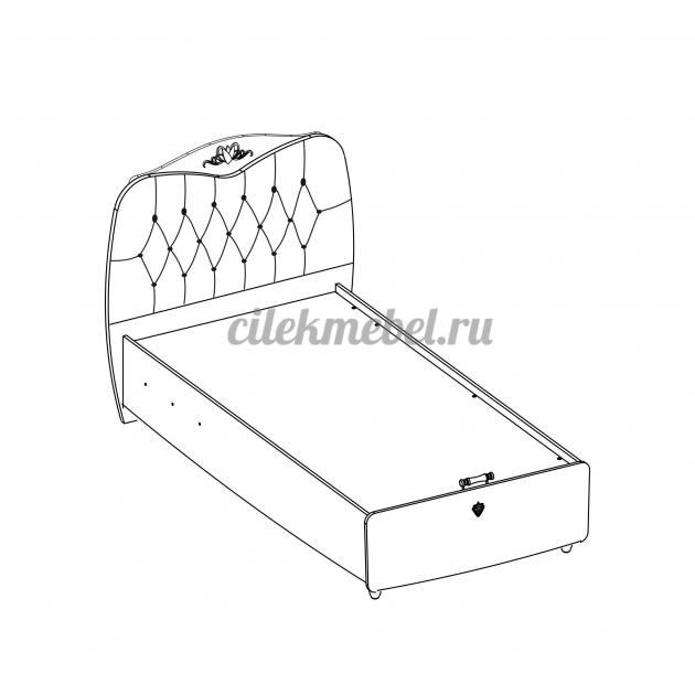 Кровать с подъемным механизмом Cilek Yakut 200 на 100 см